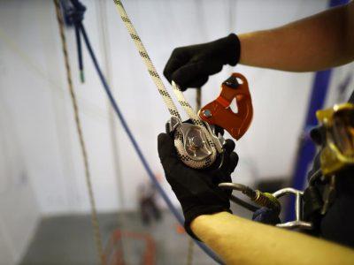 liny w alpinistyce przemyslowej